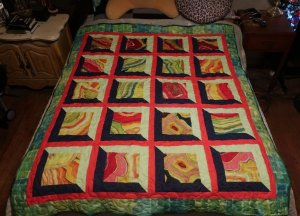 Jasmine's Quilt - So proud of her!