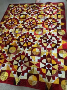 Cy Star Mystery Quilt 2021