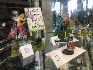 Spring Painting contest Junior Winners