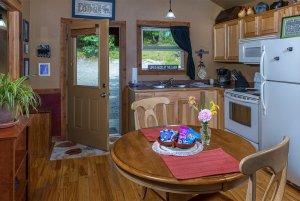 just a bear getaway kitchen