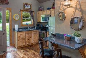 rocky's retreat kitchen