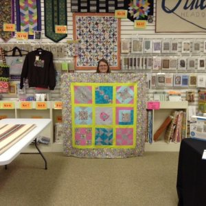 Show Finished Quilt
