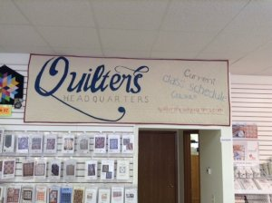 Quilters Headquarters Store Banner