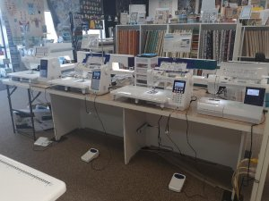 Juki and Pfaff sewing machines
