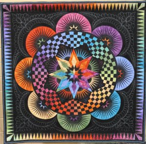 Shirley Olsen, The Circle of Life, Pieced-Small 1st