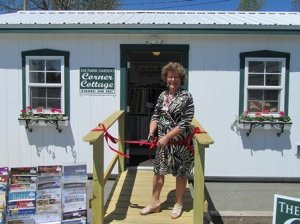 Grand opening of the Sale Cottage next door, 2013