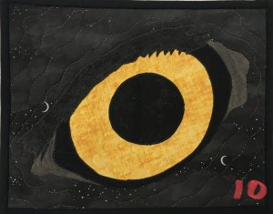 #10 Black Hole Quilt Challenge 2019
