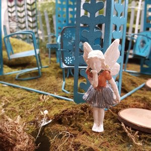 Fairy near gazebo