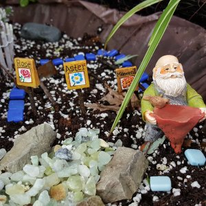 Gardening fairy