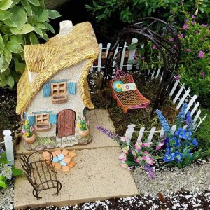 Fairy house and garden