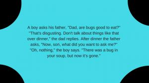 Joke a bug