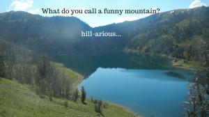 Lake in mountain