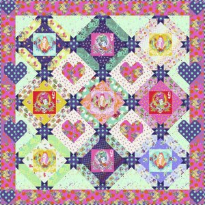Queen of Hearts Quilt