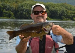 Smallmouth Bass Fishing on the Mississippi River