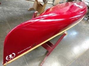 Canoe Repair Skid Plates