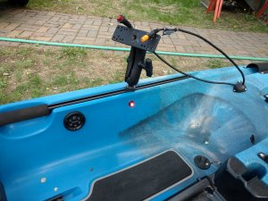 Kayak Repair - Electronic Installation