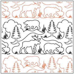 Bear Moose & Pines