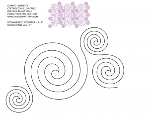 Swirls Hypnotic Panto
