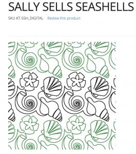 Sally Sells Sea Shells