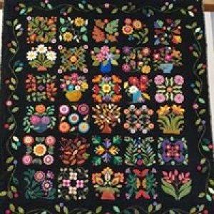 Wanda's Wool Quilt