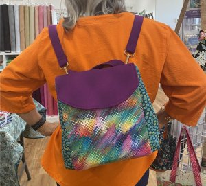 Carmen L's Malibu Sling Bag Front