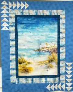 Seaside Panel Quilt