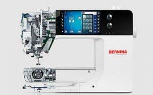 Interior of Bernina Sewing Machine
