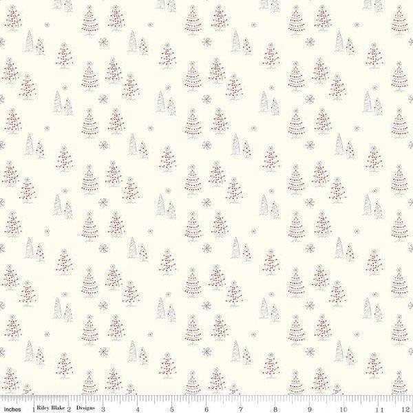 Merry Little Christmas- C9641 cream