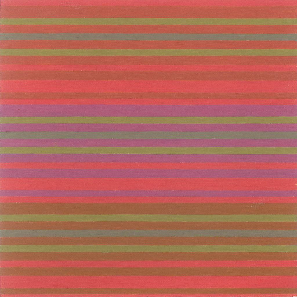 Modern Stripe 117-03-5 Pomegranate