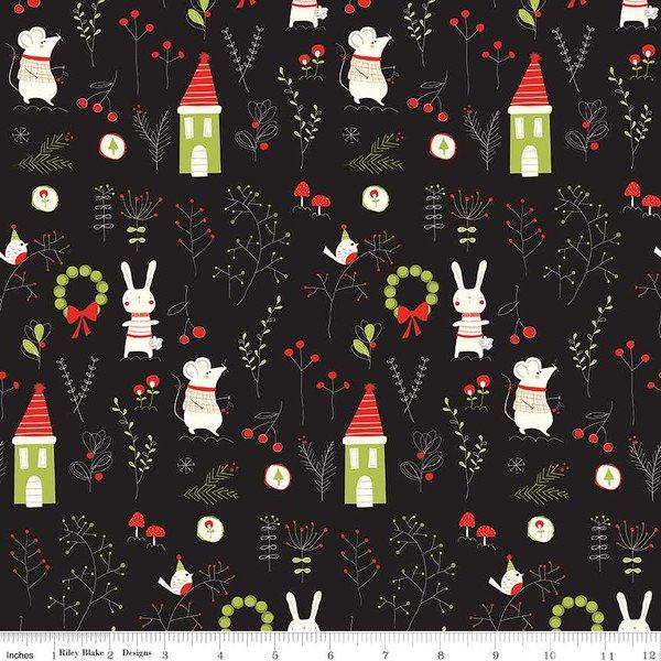 Merry Little Christmas- C9640 black