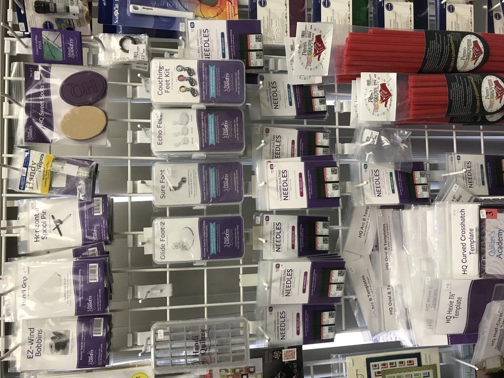 HandiQuilter Supplies