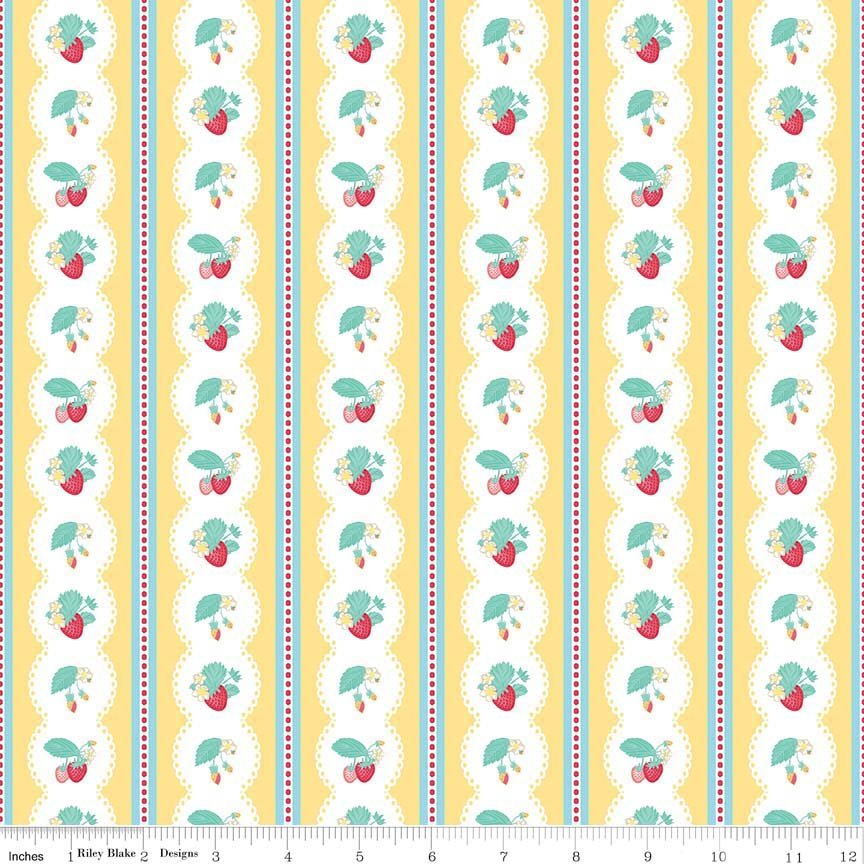 C6041_YELLOW_Strawberry Stripe