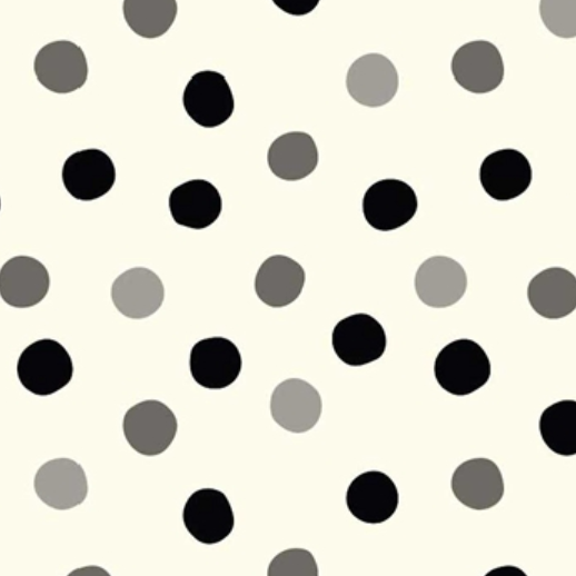 MB3-03 Pop Dots Grayscale