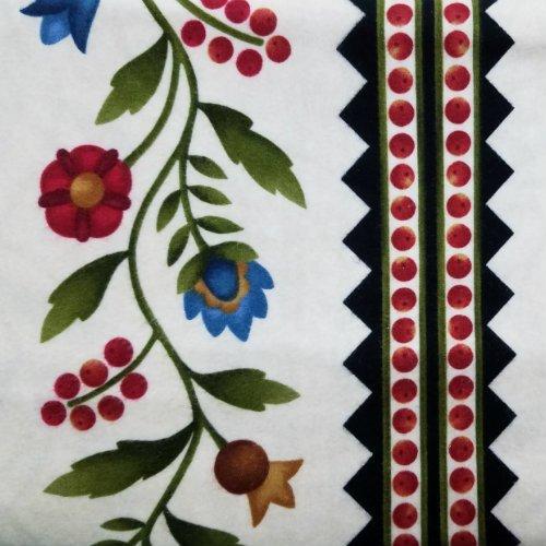 Folk Art Garden Flannel MASF18172-E