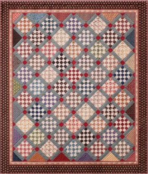 25th Anniversary Quilt Pattern