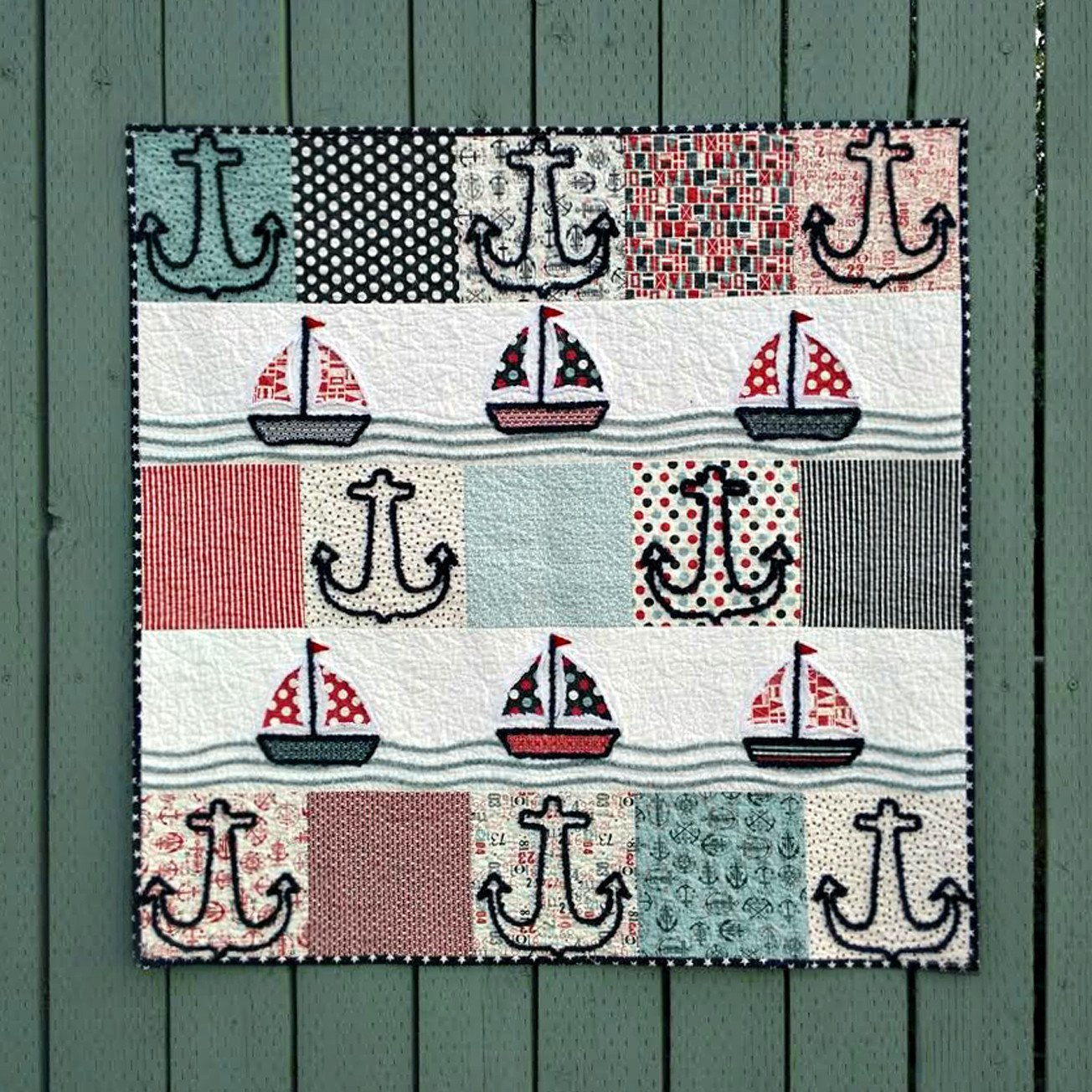 Anchors Away Chenille-It Pattern C-733