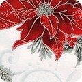 Holiday Flourish Metallic APTM-18336-186 SILVER