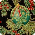 Holiday Flourish Metallic APTM-18338-2 BLACK