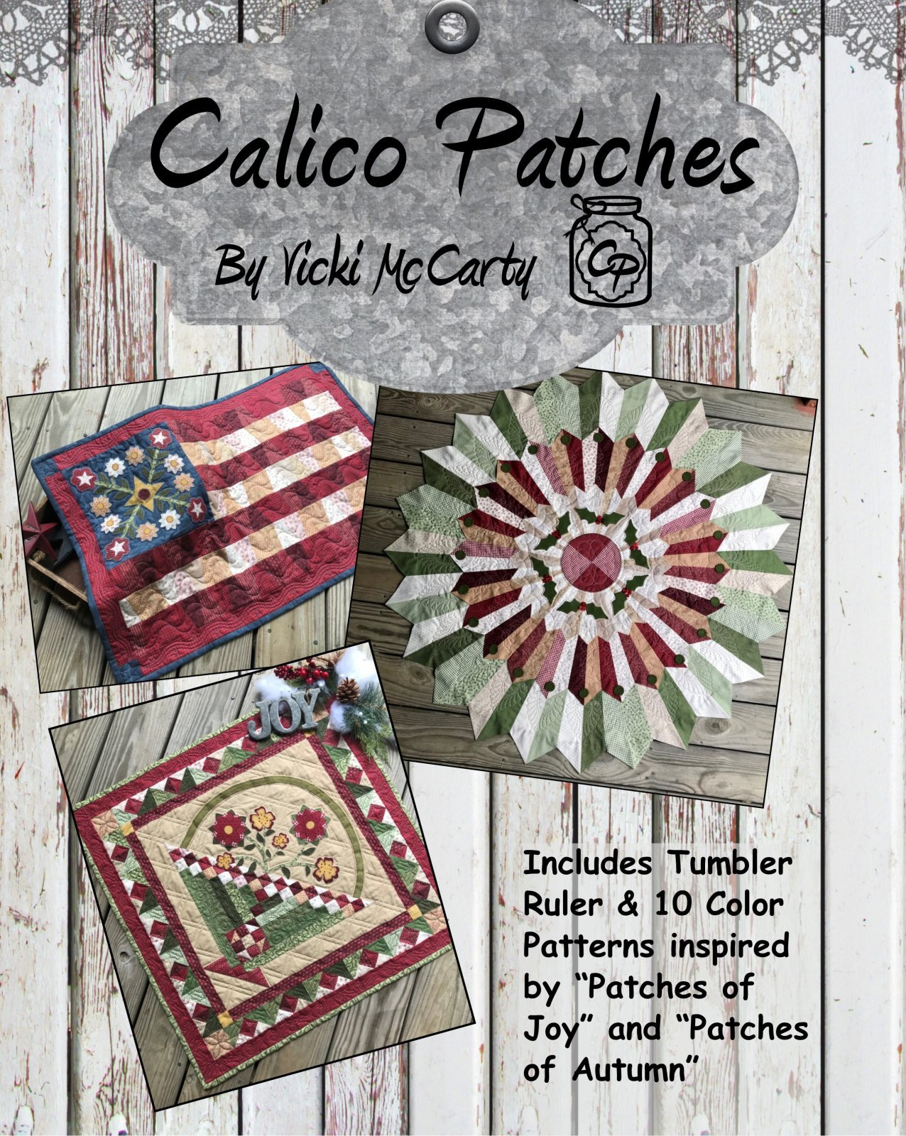 Calico Patches Book CP361