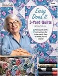 Easy Does It 3-Yard Quilts Book 031950