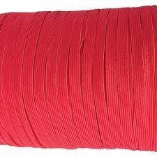 1/4 Soft Elastic Hot Red