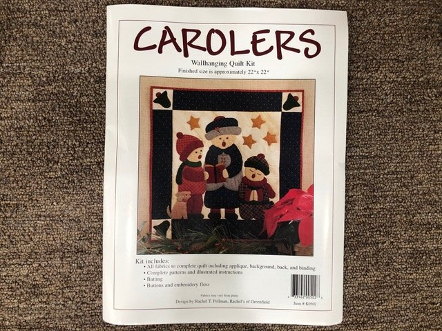 Carolers Wall Quilt Kit K0502