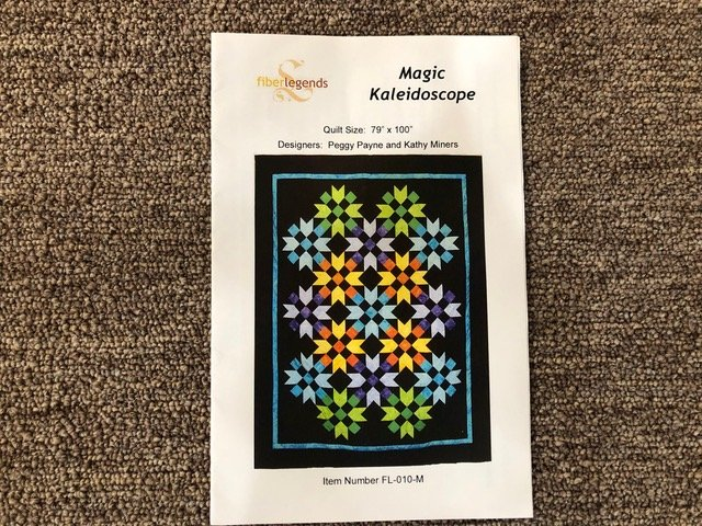 Magic Kaleidoscope Pattern FL-010-M
