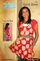 The Apron Dress Pattern A514