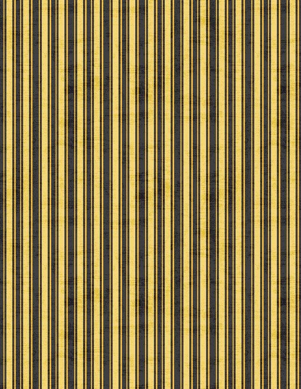 Sundance Meadow Stripe Black<br/>Wilmington Prints 33853-958
