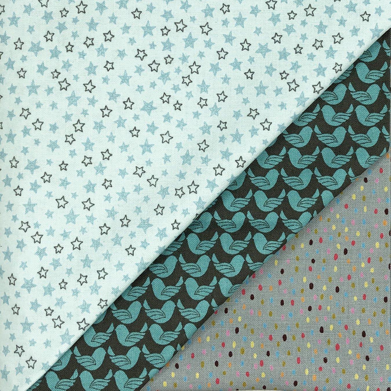 3 Yd Bundle Blue Stars<br/>GSF House Mix