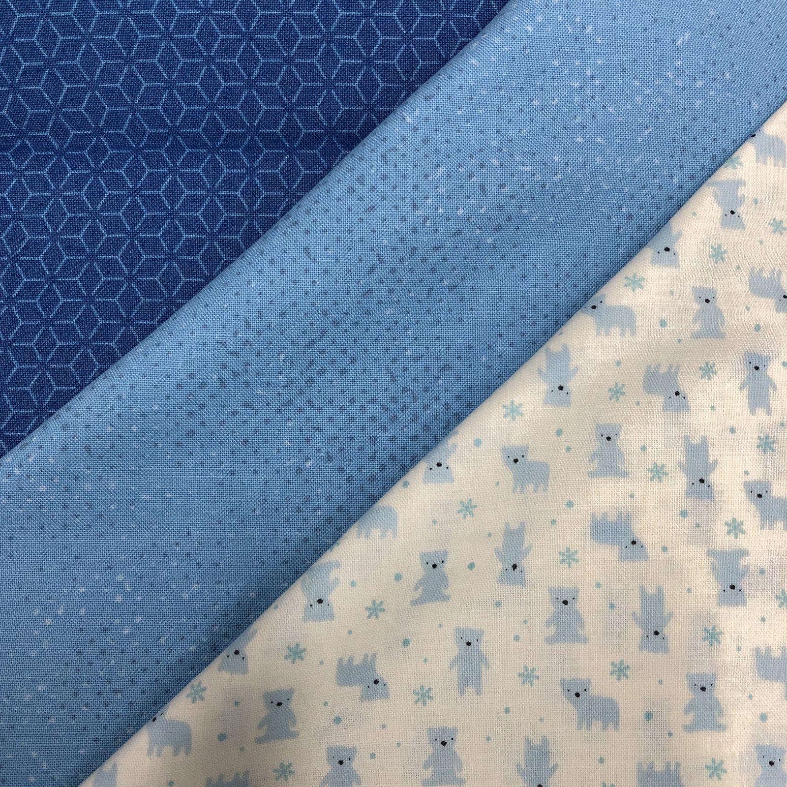3 Yd Bundle Blue Prints<br/>GSF House Mix