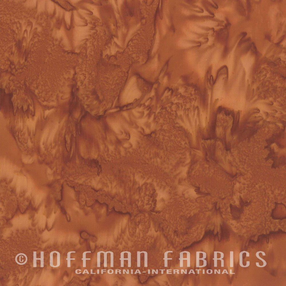 Adobe - Rust Red FQ<br/>Hoffman Fabrics 1895-100