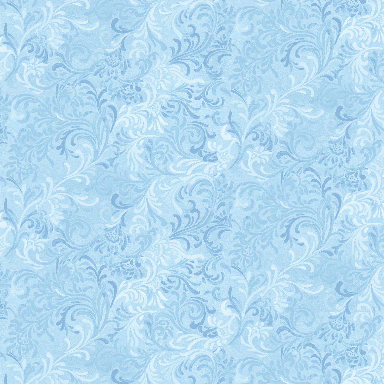 Embellishment - Lt Blue FQ<br/>Wilmington 1013-51000-410