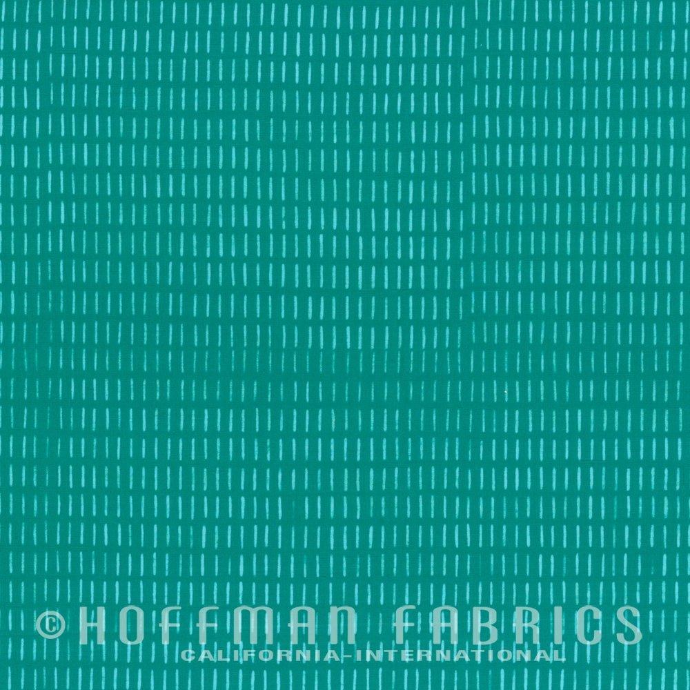Stitches Aquamarine 103-214<br/>Indah Batiks / Hoffman